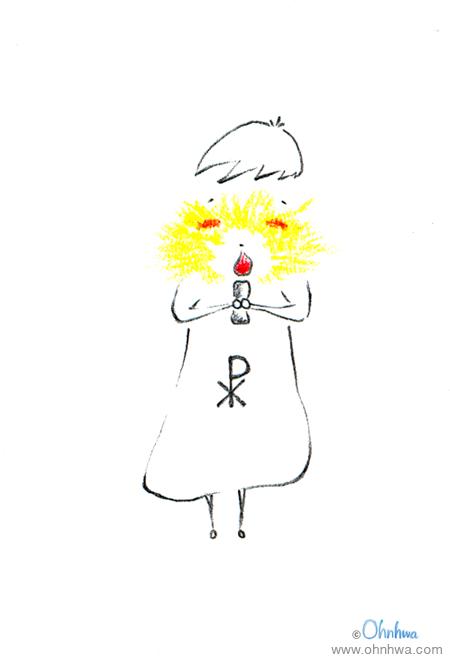 성탄 전야 미사의 촛불.jpg